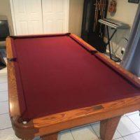 Beach Billiard Pool Table