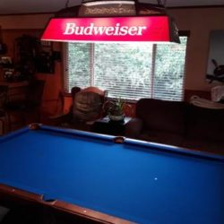 Vintage Custom Made Pool Table (SOLD)