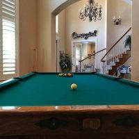 Brunswick Balke Collender 4-Leg Pfister Pool Table