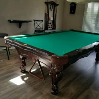 Perfect Condition!! 9' Regulation Olhausen Pool Table