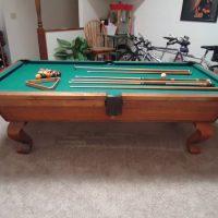 Custom Pool Table Reduced