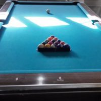 Professional Pool Table With Cues Included