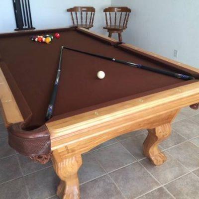 Elrond Honey Pool Table