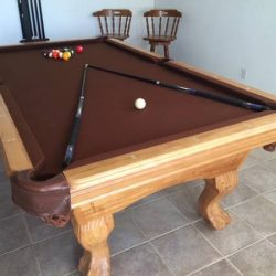 Elrond Honey Pool Table