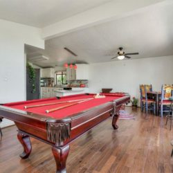 Gorgeous Red Felt 8ft Pool Table 🎱 $800.00