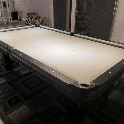 Imperial Black Pool Table