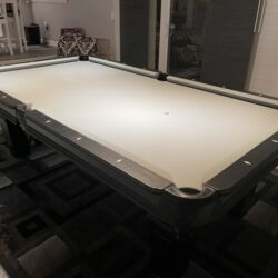Imperial Black Pool Table