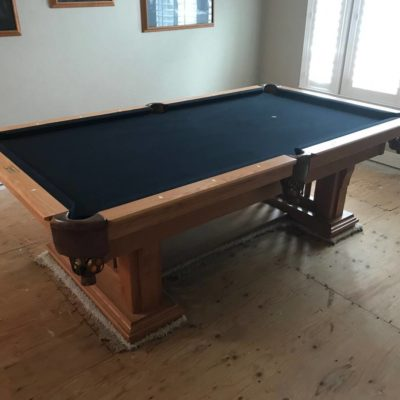 Camelot 8' Solid Oak  Pool Table