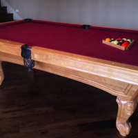 Balboa Slate Pool Table 8'. Excellent condition- like new